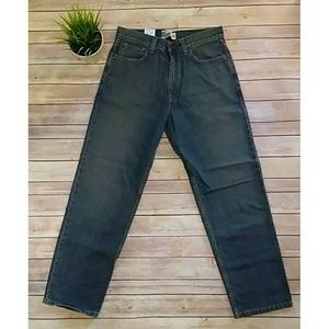 Levi's Signature Relaxed dark wash jeans NWT